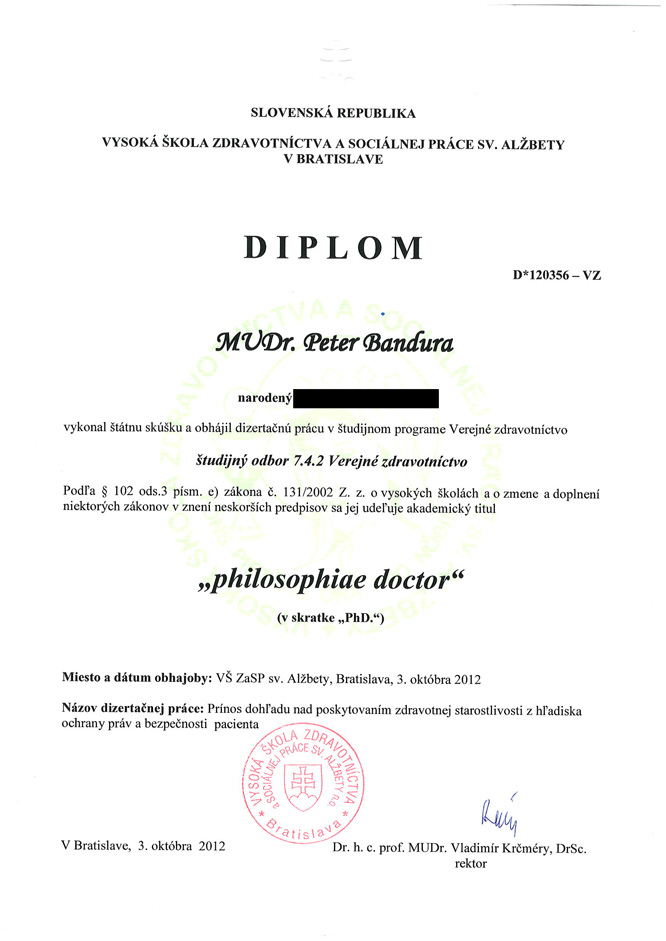 PhD-diplom